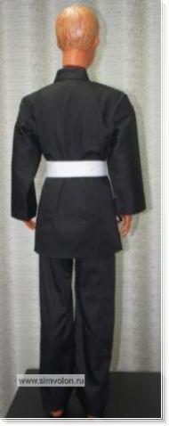 Кимоно черное К5