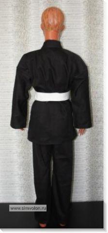 Кимоно черное К10