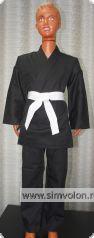 Кимоно для традиционного каратэ К8 черное